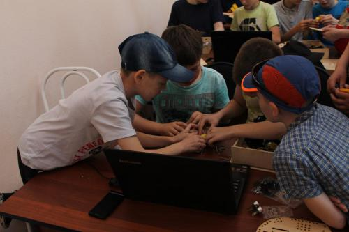 Робототехника для детей РосРобот 27