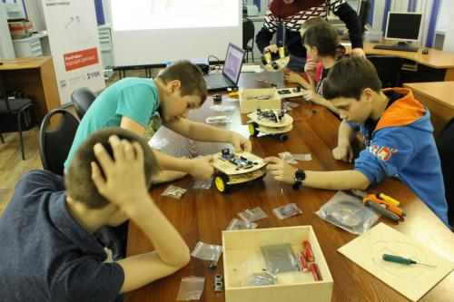Робототехника для детей РосРобот 32