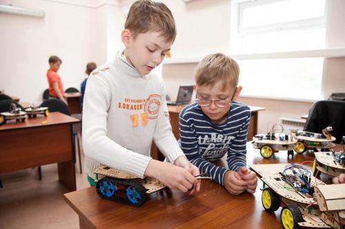 Робототехника для детей РосРобот 4