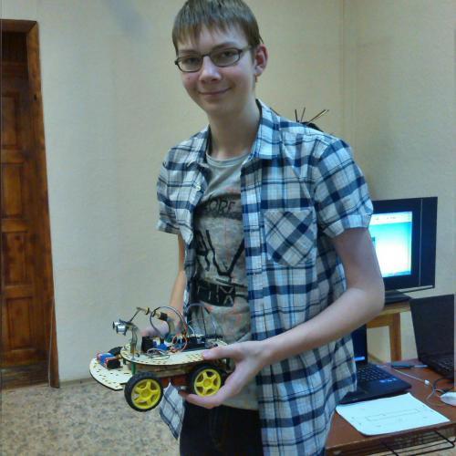 Робототехника для детей РосРобот 70