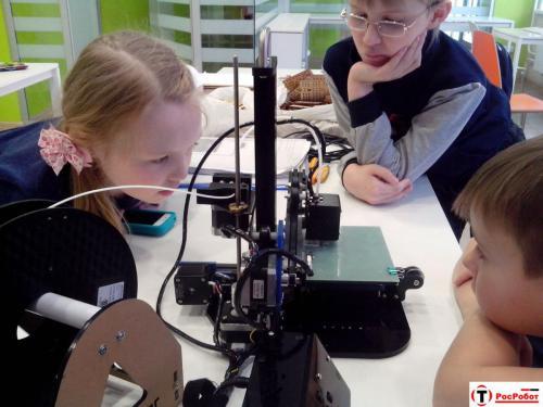 Робототехника для детей РосРобот 74