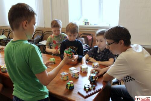 РосРобот - Интеллектуальные игры - головоломки - решение задач1