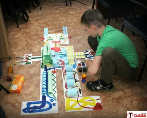 РосРобот - Интеллектуальные игры - головоломки - решение задач 2